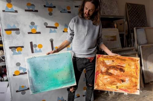 David Mazanec - Paintings and Street Murals