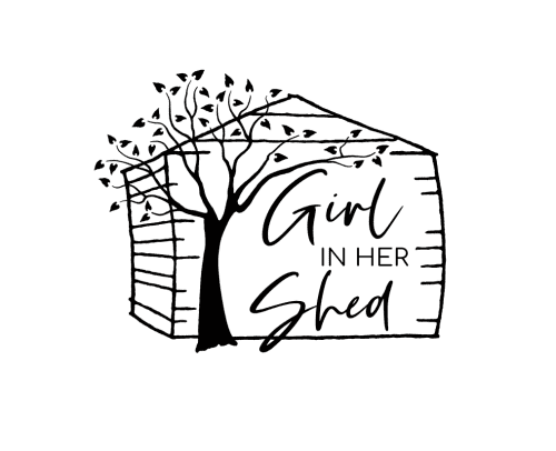 Girl In Her Shed - Signage and Art