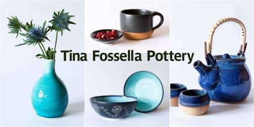 Tina Fossella Pottery - Tableware and Planters & Vases