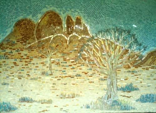 Julian Phillips Mosaic - Public Mosaics and Art Curation