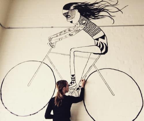 Anne Bundgaard - Murals and Art