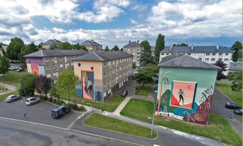 Antoine Martinet - MioSHe - Street Murals and Murals