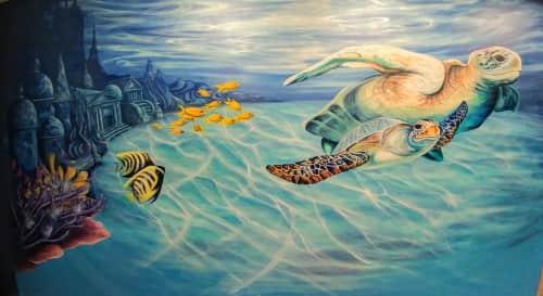 Jessie Novik Murals - Public Art and Murals
