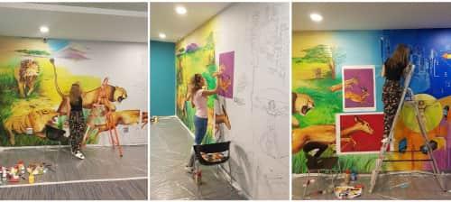 Halima Alasgarova - Murals and Paintings