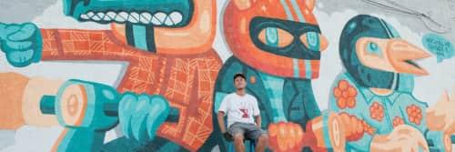 Nicholas Danger - Murals and Art