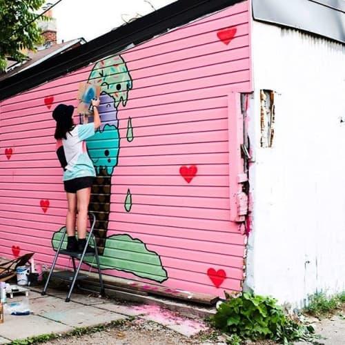 Heidi Barlow - Street Murals and Murals