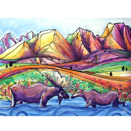 Dawn Gerety - Murals and Paintings