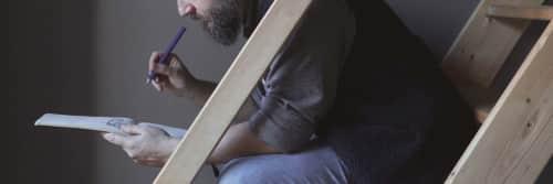 Bored Bearded Men - Macrame Wall Hanging and Art