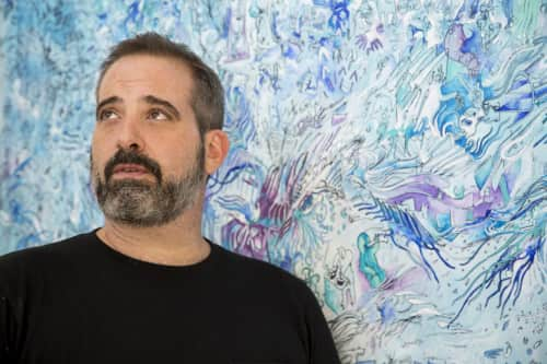 Sebastian Boesmi - Murals and Paintings