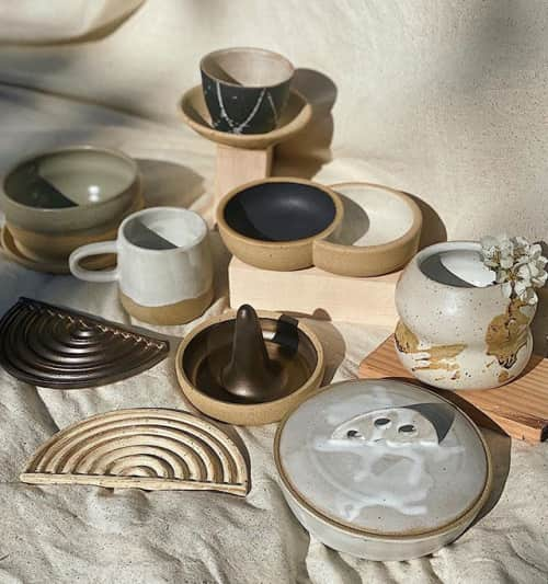 Siera Matsuo Ceramics - Tableware and Plates & Platters