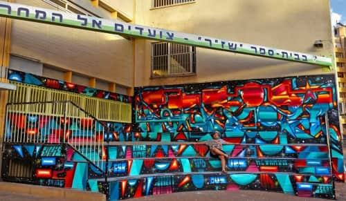 Pariz One - Street Murals and Murals