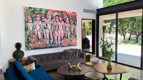 Gretel Joffroy - Paintings and Art
