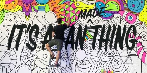 Adam Vicarel - Murals and Art