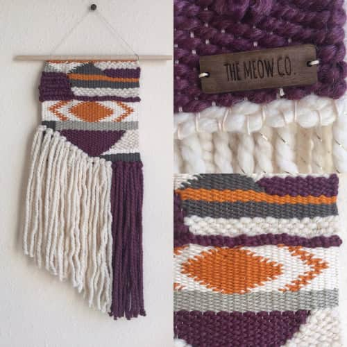 the meow co. - Macrame Wall Hanging and Art