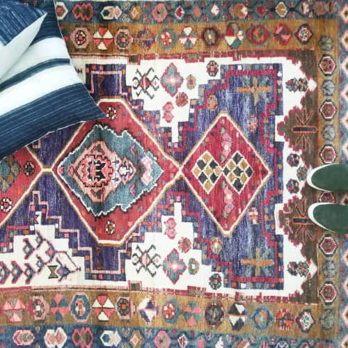 Blue Salvage - Rugs and Pillows
