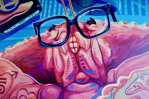Joey Rose - Street Murals and Murals
