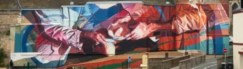 Oscar Maslard - SCKARO - Murals and Street Murals
