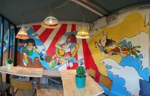 Raphael Federici - Murals and Street Murals