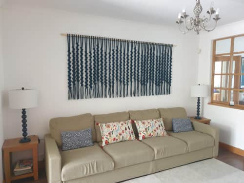 Leonor MacraMaker - Macrame Wall Hanging and Lighting Design
