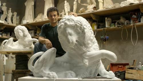 Cicero D'Ávila - Sculptures and Public Sculptures