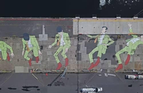 Kitt Bennett - Street Murals and Public Art