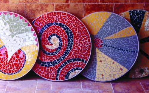 Francine Gourguechon  - Chicago Mosaics - Public Mosaics and Sculptures