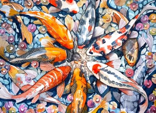 Mae Waite - Paintings and Murals
