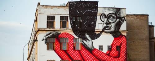 Gyva Grafika - Street Murals and Murals