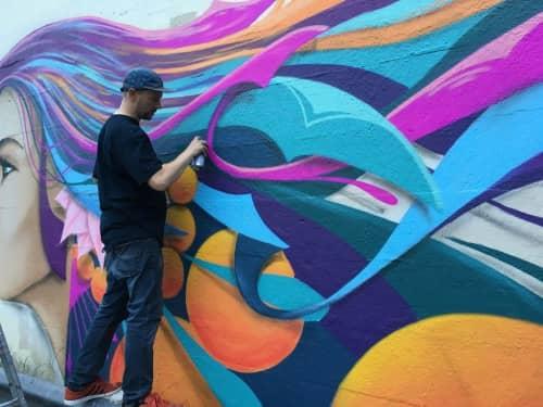 Steven Anderson Art - Murals and Street Murals