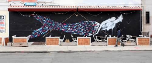 Yvette Vexta - Street Murals and Public Sculptures
