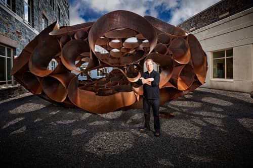DeWitt Godfrey - Public Sculptures and Public Art