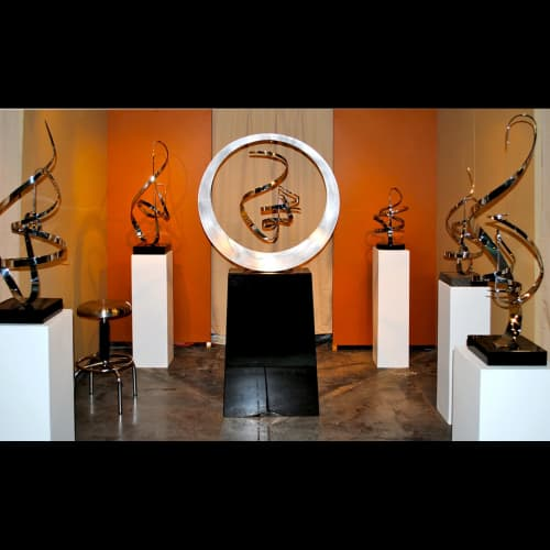 Kinetic Steel - Sculptures and Wall Hangings