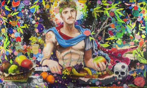 Julius Dizon Cruz Bautista Visual Art - Paintings and Art