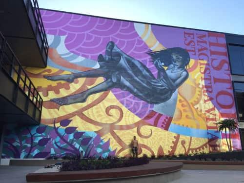 John Park - Murals and Street Murals
