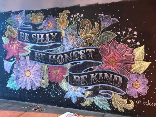 Lisa Quine - Murals and Street Murals