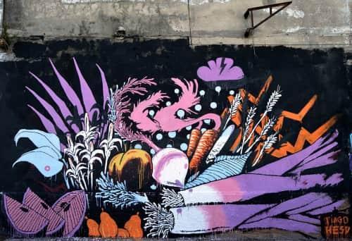 Tiago Hesp - Street Murals and Murals