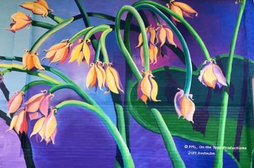 Liza Fishbone - Murals and Street Murals