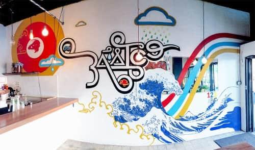 Diego Romero - Murals and Art