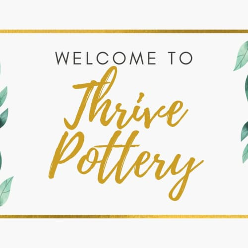 Thrive Pottery - Planters & Vases and Planters & Garden