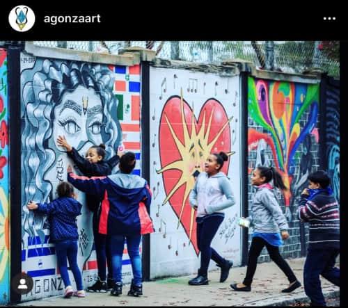 AGONZA - Art and Street Murals