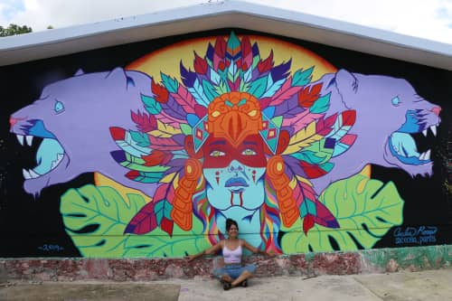 Cecilia Paints - Murals and Street Murals