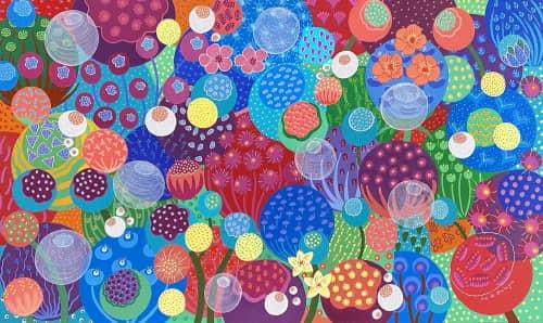 Flo de Bretagne Contemporary Art - Paintings and Art