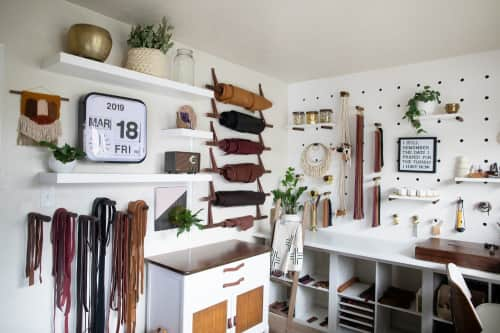 Keyaiira   leather + fiber - Art and Planters & Garden