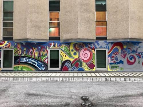 Jonathan Grauel - Murals and Sculptures