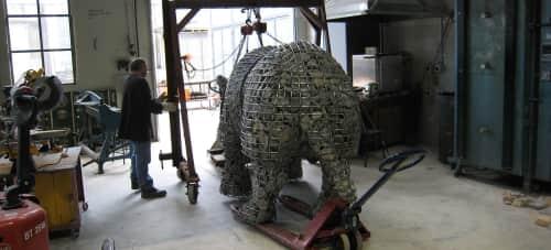 Roger Gaudreau - Public Sculptures and Public Art