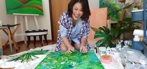 Mishell Leong - Paintings and Art