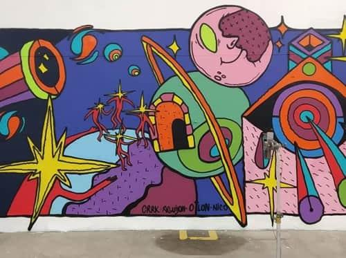 FISH VICIOUS - Murals and Art