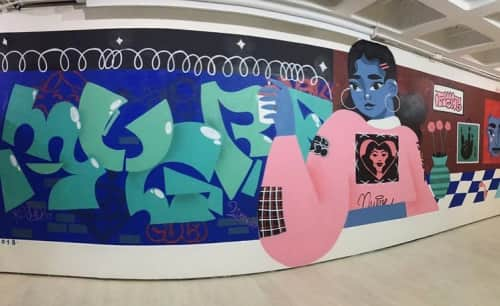 Mugre Diamante - Street Murals and Public Art