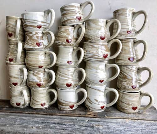 S.S. Robinson Pottery - Tableware and Wall Hangings