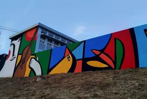Muzai - Macrame Wall Hanging and Murals